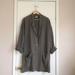 Green Vintage Chore Jacket